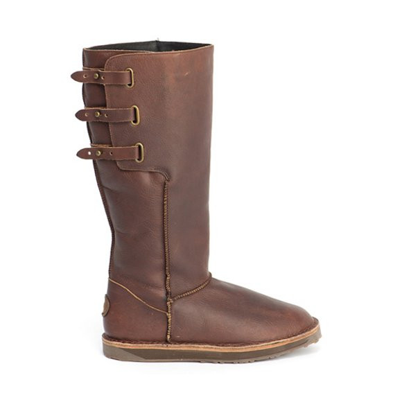 emu chocolate narooma leather boot oxygen clothing