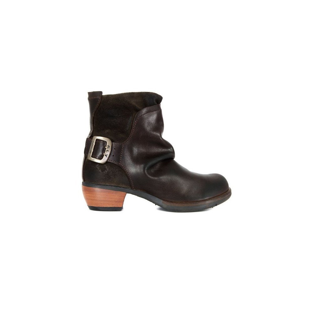 Fly Mel Boot - Dark Brown main image