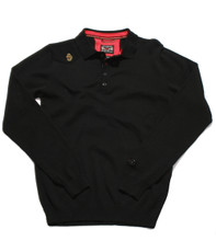 Luke Black Milk L/S Polo