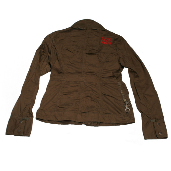 Superdry Womens Green Superdry Trials Jacket main image