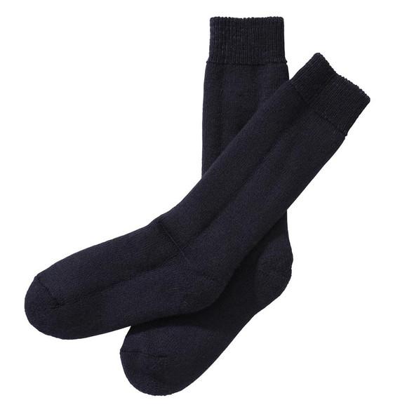 Barbour Lifestyle Mens Blue Wellington Calf Sock main image