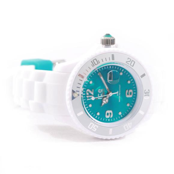 Ice-Watch Unisex White Ice-Watch White/Turquoise Sili Watch main image