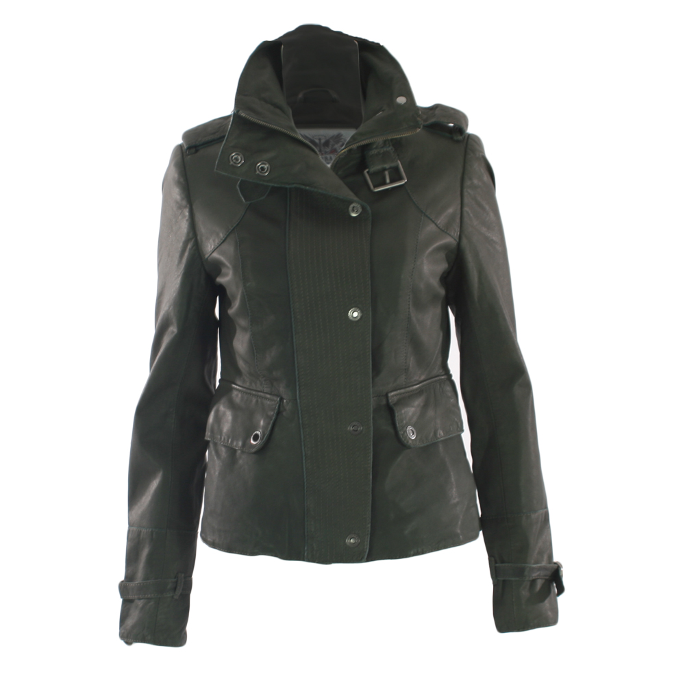 Firetrap leather jacket
