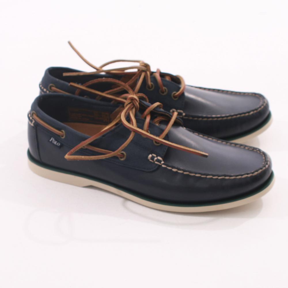 Ralph Lauren Bienne Boat Shoe Blue