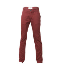 Bellfield Burgandy 5 Pocket Chino