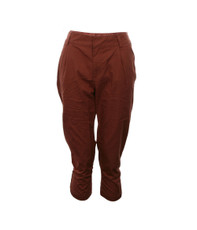 Bench Montezuma Cuffed Chino - Terracotta