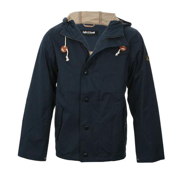 lyle and scott lyle scott navy hooded parka jacket masdings. Black Bedroom Furniture Sets. Home Design Ideas