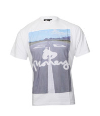 Money White Takeoff Crew Neck Tee