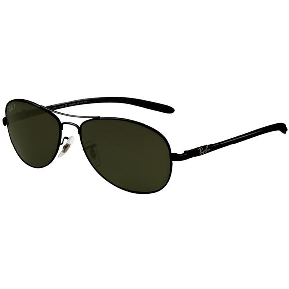 Ray Ban Mens Black Ray Ban 0RB8301 Sunglasses main image