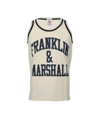 Franklin Marshall Large Logo Jersey Vest