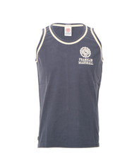 Franklin Marshall Small Logo Jersey Vest