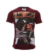 Savant Plum Hello Boys Girl Tee