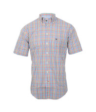 Fynch Hatton Green Multicolur Combi SS Shirt
