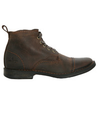 J Shoes Dark Brown Estate Boot