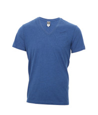 G-Star Pilot Blue NY Regular V Tee