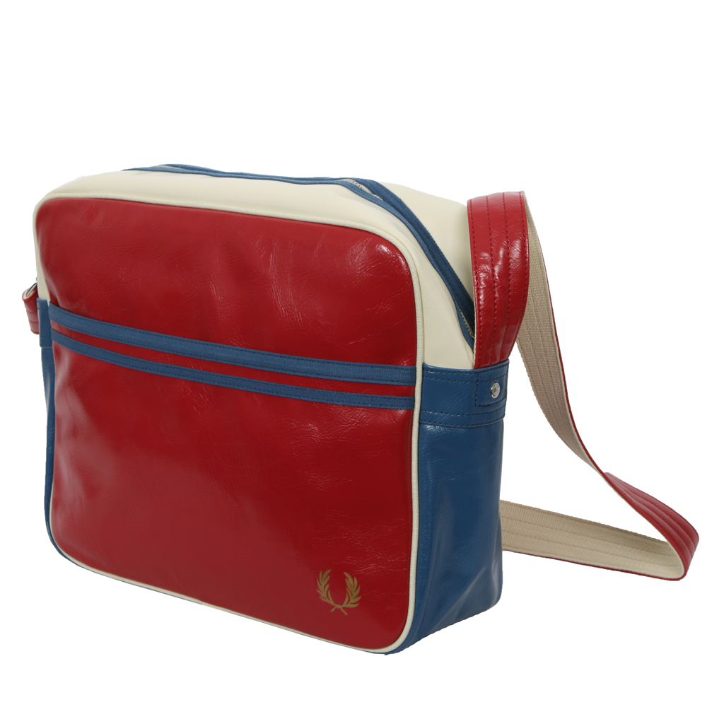 Classic Shoulder Bag Fred Perry Deep Red 25