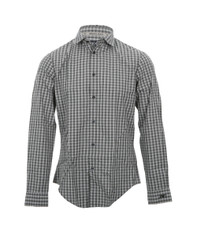 Armani Jeans S6C28 Check Long Sleeve Shirt