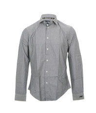 Armani Jeans S6C28 Stripe Long Sleeve Shirt