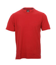 Armani Jeans 06H65 Basic Red Logo T