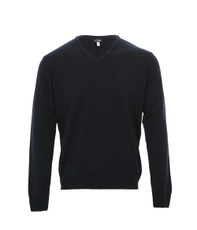 Armani Jeans Basic V Neck Jumper