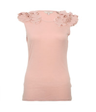 Ted Baker Eysis Shoulder Trim Detail Tee