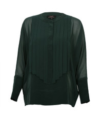 Ted Baker Trinkah Pleated Front Panel Shirt