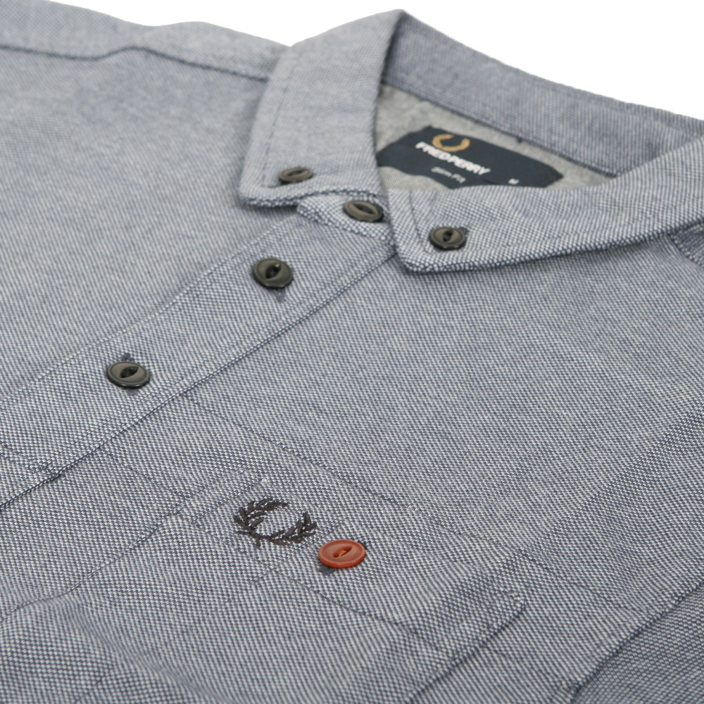 Fred Perry Penny Collar Work Shirt main image