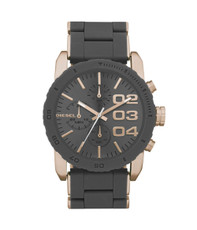 Diesel DZ5307 Med Chrono Metal Strap Watch