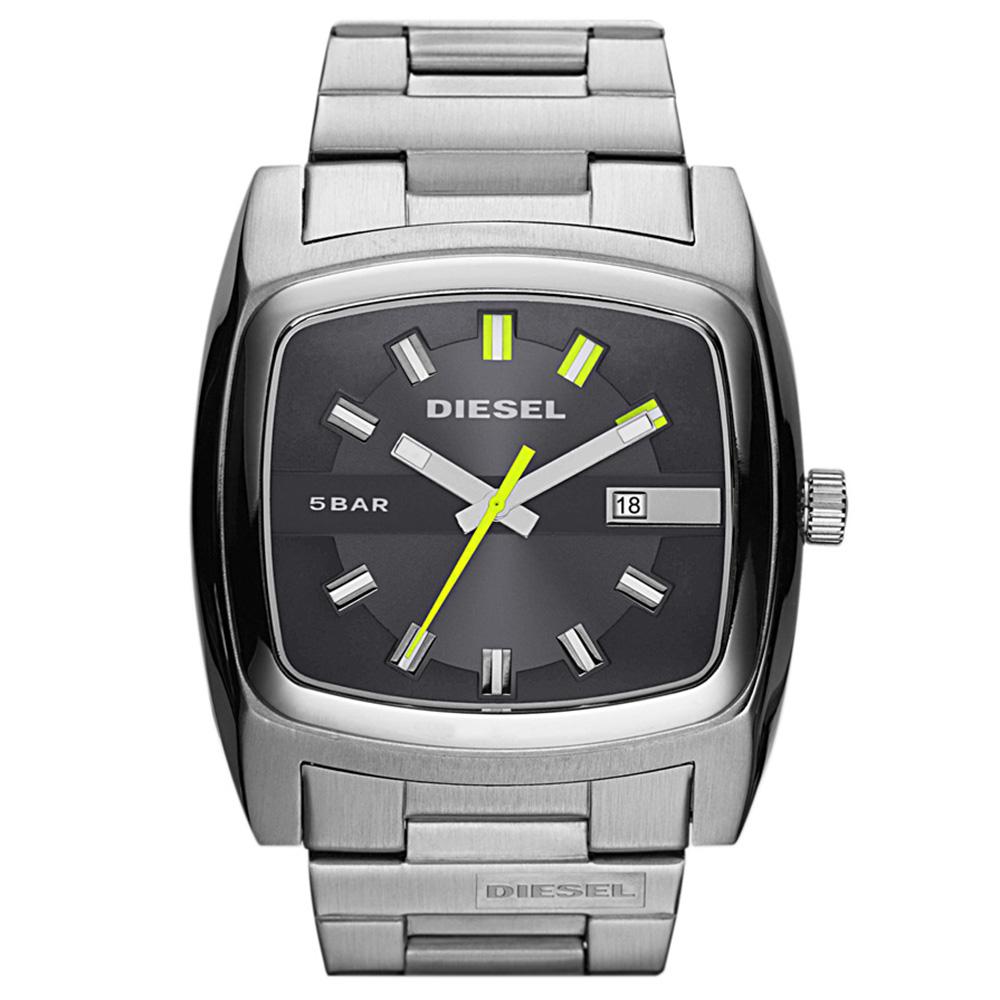 diesel dz1556 bar metal bracelet strap watch masdings. Black Bedroom Furniture Sets. Home Design Ideas