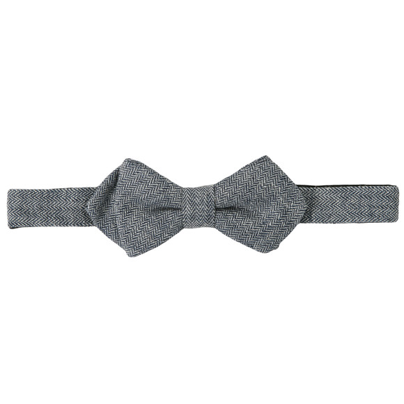 Scotch & Soda Mens Grey Scotch & Soda The Worker Bow Tie  main image
