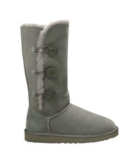 Ugg Grey Bailey Button Triplet