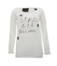 Maison Scotch French Theme Long Sleeve Tee