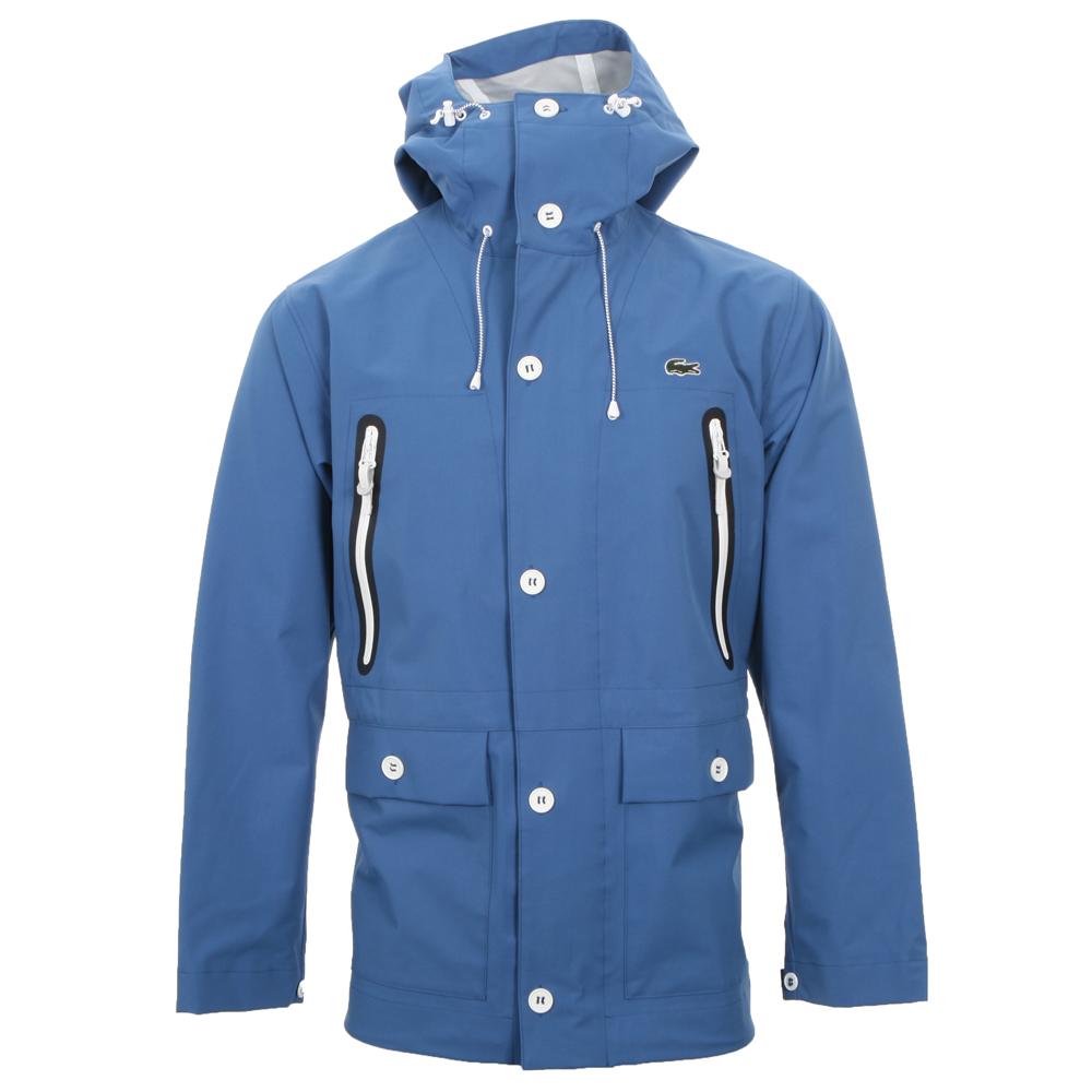 lacoste live lacoste l ve hooded jacket oxygen clothing. Black Bedroom Furniture Sets. Home Design Ideas
