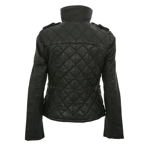 Superdry ramona leather jacket