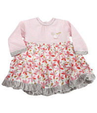 Catimini CA30001 Stripe & Flower Dress