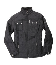 Barbour Black International Trials Polarquilt Jacket