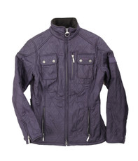 Barbour Purple International Trials Polarquilt Jacket