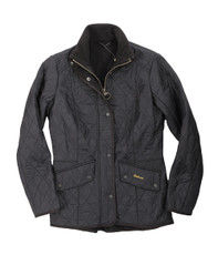 Barbour Black Cavalary Polarquilt