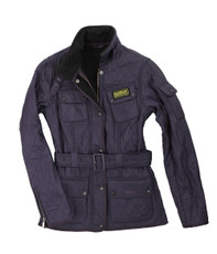 Barbour International Polarquilt Grape