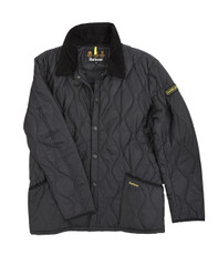Barbour Liddesdale Black Track Jacket