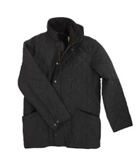 Barbour Black Microfibre Polarquilt.