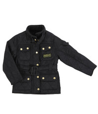 Barbour Girls Black International Polarquilt
