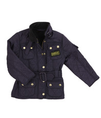 Barbour Girls Purple International Polarquilt