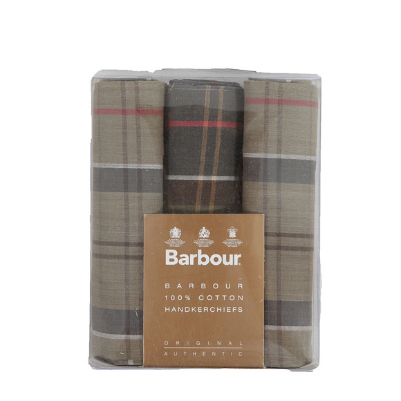 Barbour Lifestyle Mens Multicoloured Tartan Handkerchiefs main image