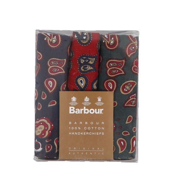 Barbour Lifestyle Mens Multicoloured Paisley Multi Handkerchief main image