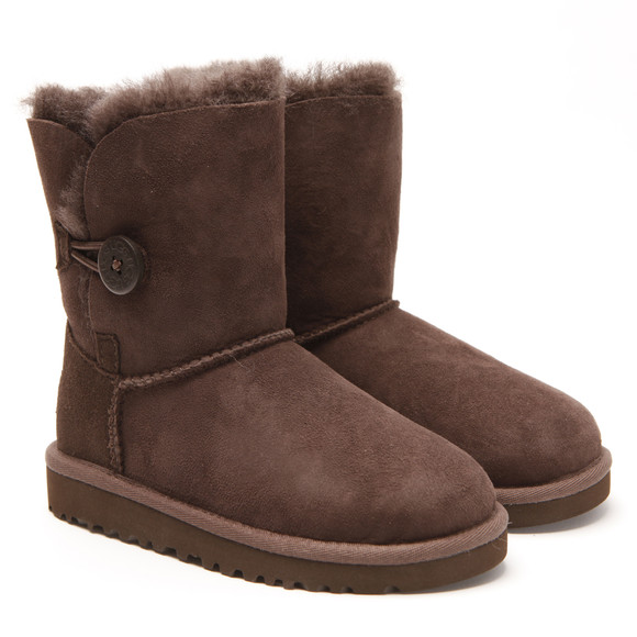 Ugg Girls Brown Ugg K Bailey Button  main image