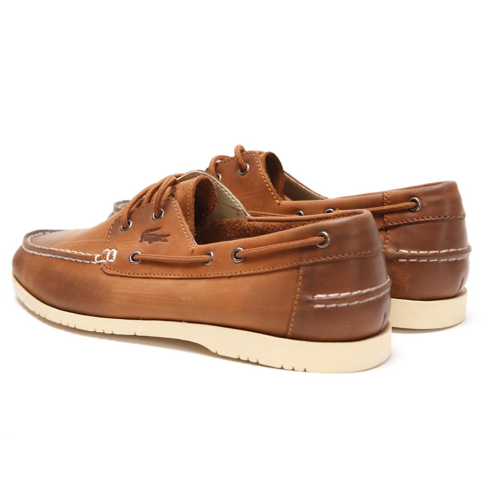 Brown Tan Boat Shoes