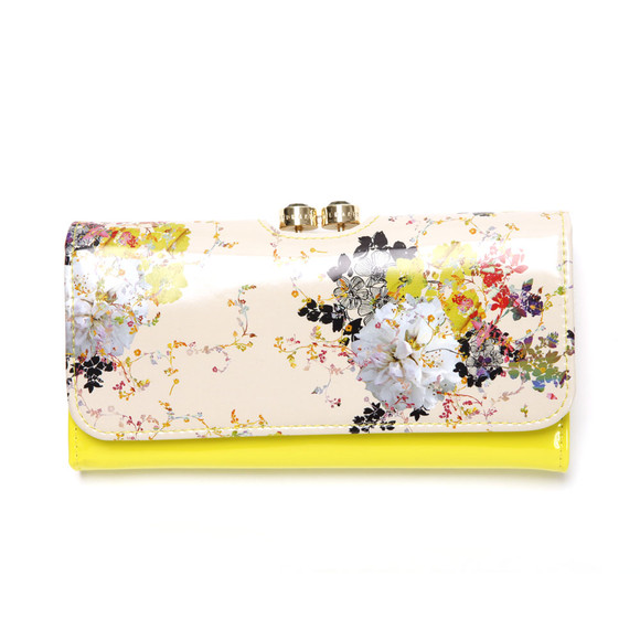 Ted Baker Womens Green Ted Baker Effima Summer Bloom Matinee Purse main image